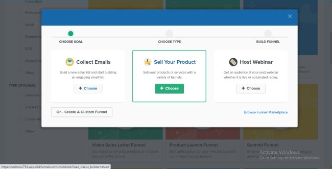 selling your product in clickfunnels